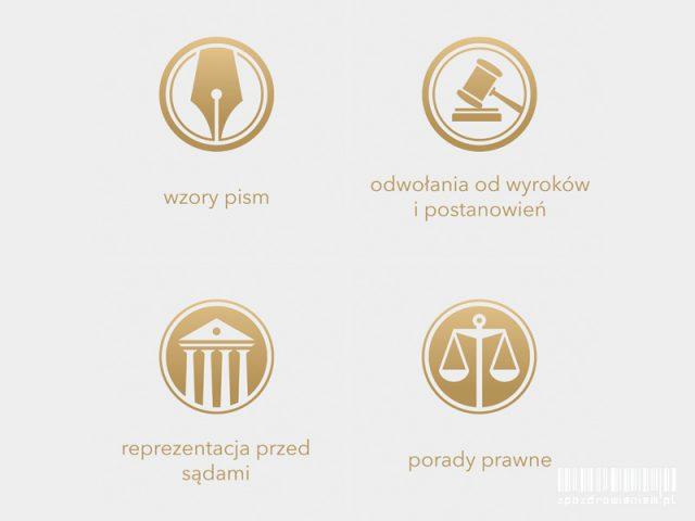 Porady prawne online, przygotowywanie dokumentów, pism, zażaleń, apelacji. Nowa oferta serwisu internetowego zpozdrowieniem.pl